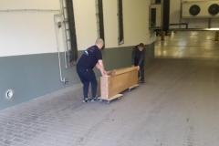 Przewóz  mebli na platformach