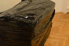 Zapakowana skrzynia